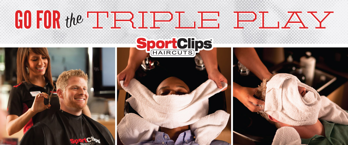 The Sport Clips Haircuts of Latham Triple Play